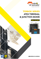 Atex Terminal & Junction Boxes - Terbox-Serie · Atex Delvalle