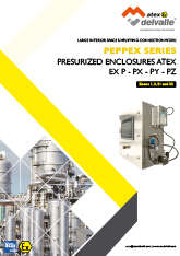 Pressurized Enclosures Ex P - UL Peppex IP66 · Atex Delvalle