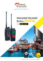Walkies talkies Atex · Atex Delvalle