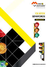 Atex LED traffic lights · Atex Delvalle