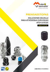 Cable Glands for Explosive Atmospheres Atex & IECEx · Atex Delvalle