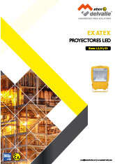 Proyectores LED Atex · Atex Delvalle