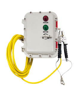 Electronic Earthing System Atex Groundex IP66 · Atex Delvalle
