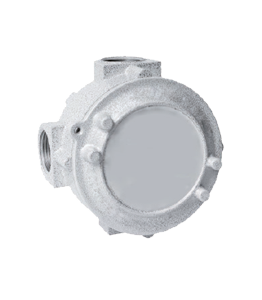 Flameproof Round Junction Boxes · Atex Delvalle