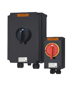 GRP Safety and Isolation Switches Atex & IECEx · Atex Delvalle