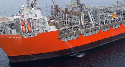 FPSO floating production · Atex Delvalle