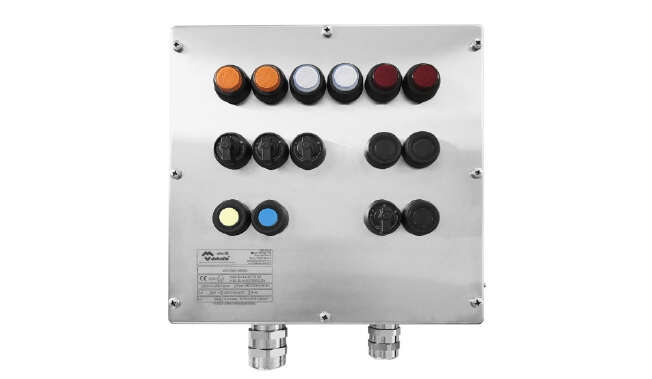 Ex Push Button Station Contrex · Atex Delvalle