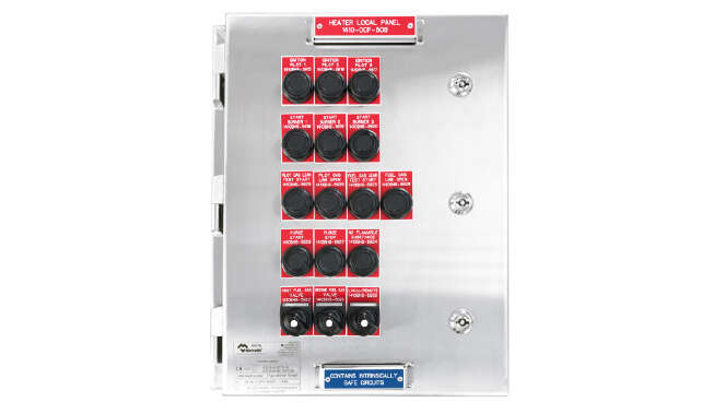 Ex Push Button station Contrex Series · Atex Delvalle