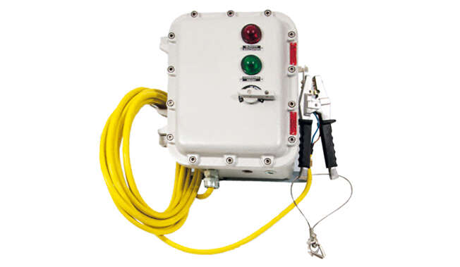 Grounding Monitor Atex IP66 · Atex Delvalle