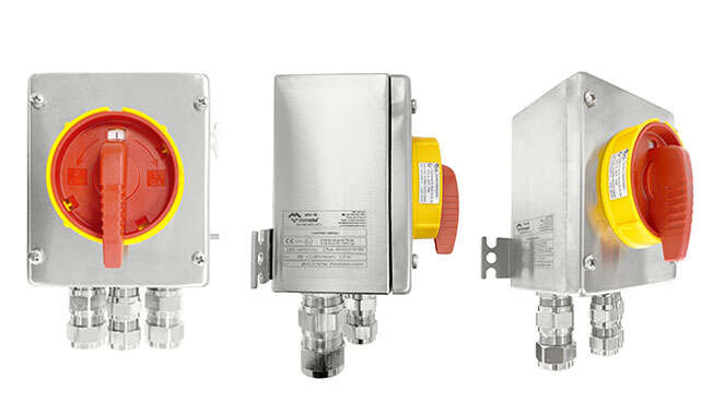 Safety and Isolation Switches Atex & IECEx · Atex Delvalle