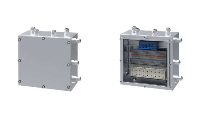 Atex Marshalling Boxes · Atex Delvalle