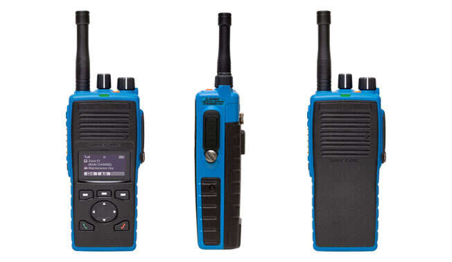 Radio Walkies Talkies Intrínsecamente Seguros · Atex Delvalle