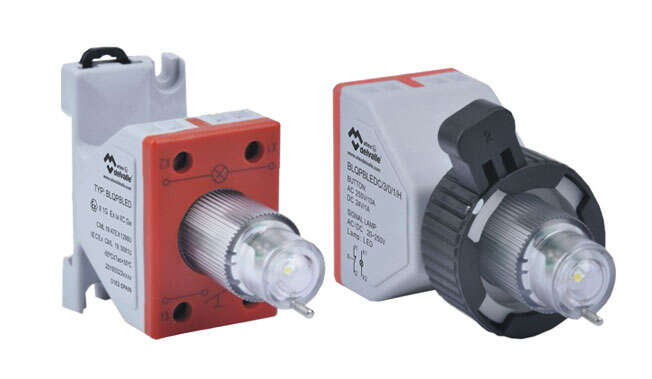 Ex Signal Lamp with Push Button Module · Atex Delvalle