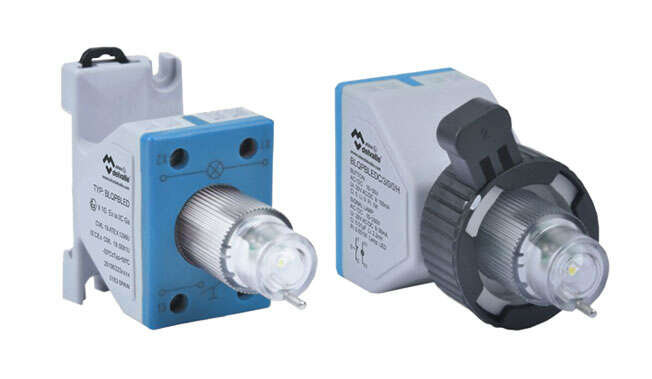 Ex Signal Lamp with Push Button Module Increased Security · Atex Delvalle