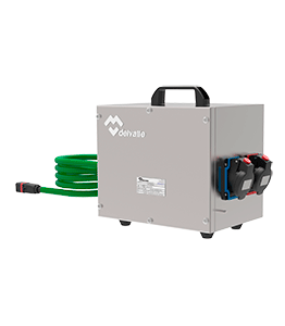 Portable splitter box hazardous areas · Atex Delvalle